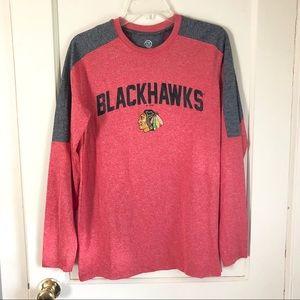 NHL Blackhawks Hockey Long Sleeve Shirt